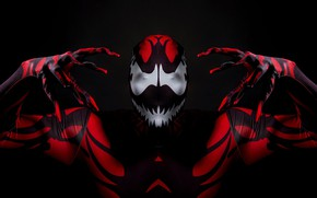 Картинка монстр, костюм, комикс, venom, Веном