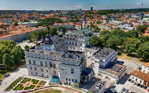Картинка здания, дома, архитектура, дворец, Литва, Lithuania, Вильнюс, Vilnius, Дворец великих князей литовских, Palace of the …