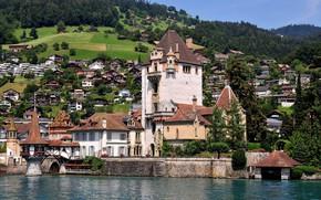Картинка Швейцария, Замок, Оберхофен, Замок Оберхофен