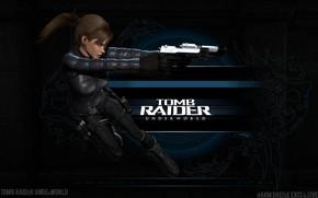 Картинка девушка, пистолеты, Tomb Raider, Лара Крофт, Lara Croft, расхитительница гробниц, Tomb Raider: Underworld