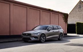 Картинка Volvo, 2018, универсал, V60, Inscription