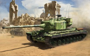 Картинка США, тяжелый танк, T29, Т29E3
