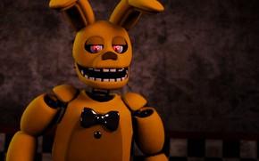 Картинка игра, заяц, Five Nights at Freddy's, Пять ночей у Фредди, механическая кукла
