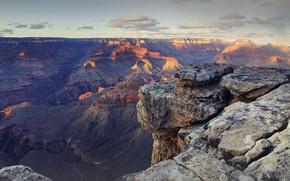 Картинка каньон, Большой каньон, Штат Аризона, Горы Америки