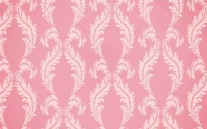 Картинка фон, розовый, текстура, орнамент, pink, background, ornamental