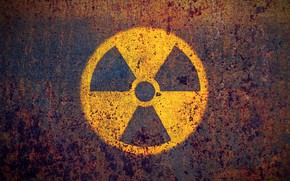Картинка symbol, nuclear, rust