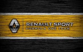 Картинка Renault, wallpaper, sport, logo, Formula 1
