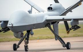Картинка ВВС США, Reaper, MQ-9, General Atomics Aeronautical Systems, разведывательно-ударный БПЛА