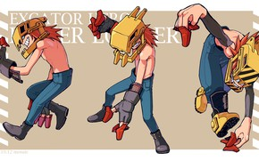 Картинка техник, My Hero Academia, Boku No Hero Academia, Моя Геройская Академия, Higari Maijima