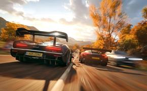 Картинка Aston Martin, McLaren, Microsoft, game, 2018, Senna, Vulcan, Forza Horizon 4