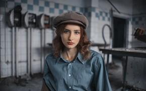 Картинка веснушки, кепка, рубашка, Ромашкану Дмитрий