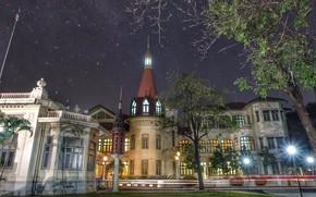 Картинка ночь, Таиланд, Бангкок, Phyathai palace