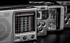 Картинка макро, фон, Pocket radio