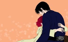 Картинка девушка, парень, Рассвет Йоны, Akatsuki no Yona, Хак, Йона, Yona of the Dawn