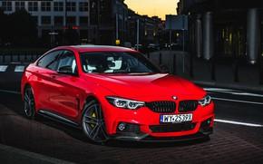 Картинка BMW, Gran Coupe, 2018, 4-Series, M Performance, 430i
