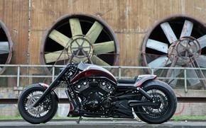 Картинка Harley-Davidson, Night Rod, Thunderbike, Track Racer
