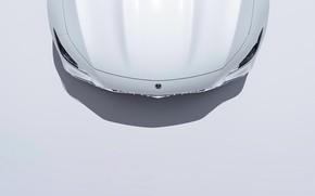 Картинка Авто, Белый, Машина, Капот, Mercedes, Вид сверху, Transport & Vehicles, AMG GT 63 S, Mercedes-AMG …