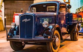 Картинка грузовик, кабина, Opel Blitz