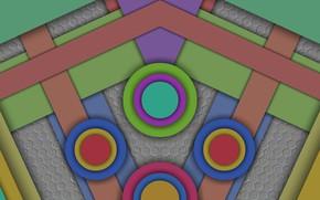 Картинка круги, текстура, фигуры