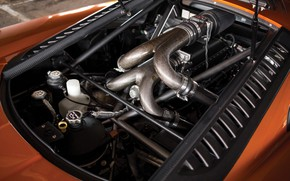 Картинка двигатель, Saleen, суперкар, 2005, Twin Turbo, Saleen S7