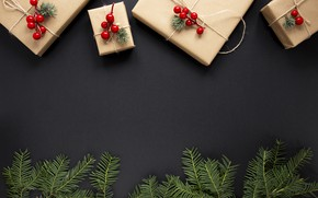 Картинка Рождество, подарки, Новый год, ёлка, Happy New Year, Christmas, New Year, gift, Happy Christmas
