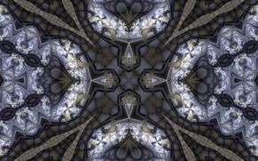 Картинка абстракция, узор, тёмный