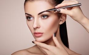 Картинка woman, makeup, makeup artist