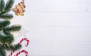 Картинка украшения, шары, Новый Год, Рождество, Christmas, balls, New Year, decoration, xmas, Merry, fir tree, ветки …