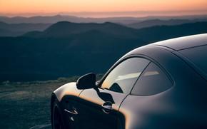 Картинка закат, Mercedes-Benz, вечер, AMG, AU-spec, GT R, 2019