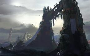 Картинка Руины, Развалины, Врата