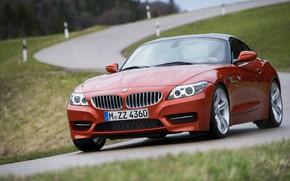 Картинка дорога, крыша, BMW, родстер, 2013, E89, BMW Z4, Z4, sDrive35is