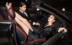 Картинка машина, авто, девушка, поза, стиль, модель, парень, ножки, Евгений Ангелов, ANGELOV