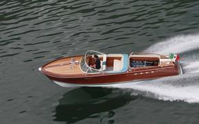 Картинка Sea, Boat, Ships, Lamborghini Riva Aquarama