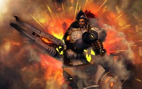 Картинка мужик, воин, броня, Fernando, Paladins