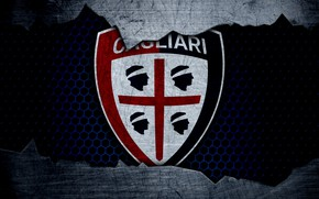 Картинка wallpaper, sport, logo, football, Cagliari