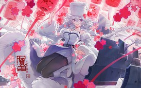 Картинка девушка, аниме, арт, Azur Lane