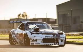 Картинка Mazda, Race, RX-7, Mazda RX-7, Rocket Bunny