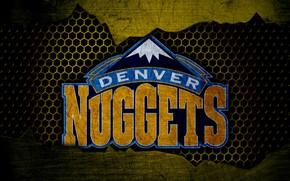 Картинка wallpaper, sport, logo, basketball, NBA, Denver Nuggets
