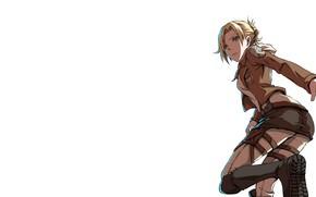 Картинка аниме, anime, sasha, атака титанов, микаса, attack on titan, mikasa, саша, aot, энни, битва титанов