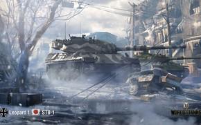 Картинка WoT, World of Tanks, Leopard 1, Wargaming, STB-1