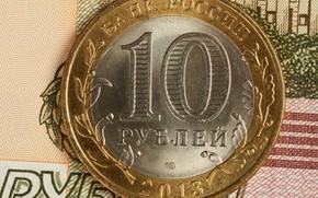 Картинка деньги, монета, рубль
