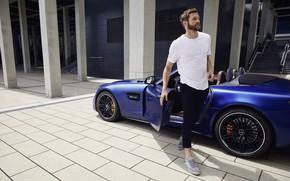 Картинка родстер, AMG, roadster, Mercedes - Benz, sports car, 2019, Мерседес - Бенц, Mercedes-AMG GT R …