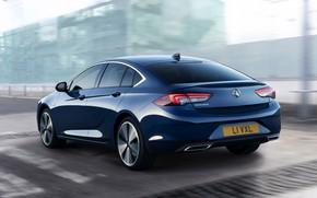 Картинка Insignia, Opel, седан, Vauxhall, задом, 2020, Insignia Grand Sport