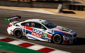 Картинка купе, скорость, BMW, трек, 2019, M6 GT3