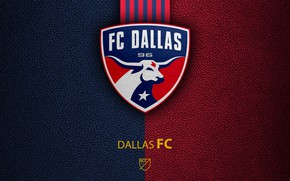 Картинка wallpaper, sport, logo, football, Dallas, MLS