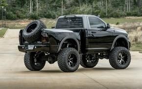 Картинка Dodge, Truck, 1500, Pickup, Ram, Mopar, Vehicle, Off road