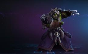 Картинка Blizzard, Orc, Warrior, Gladiator, WarCraft, Mr--Jack, Rehgar, Rehgar Earthfury, World of WarCraft, Shaman, Mr Jack, …