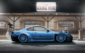Обои Авто, Машина, Тюнинг, S15, Silvia, Nissan, Рендеринг, Nissan Silvia, Nissan Silvia S15, Вид сбоку, Dmitry ...