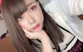 Картинка Girl, Beautiful, Asian, Cute, Pretty, Japanese