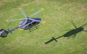 Картинка Вертолет, Тень, Eurocopter, EC 145, Eurocopter EC 145